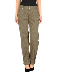 Murphy And Nye Casual Pants Military Green