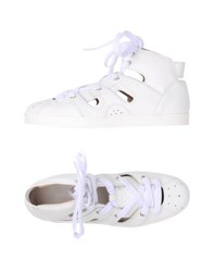 Emporio Armani Footwear High Tops And Trainers Women White