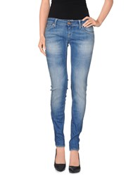 Meltin Pot Denim Denim Trousers Women Blue