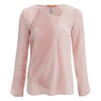 Boss Orange Women's Concerts Top Bright Pink