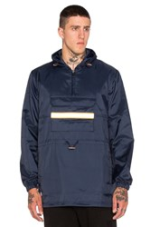 10.Deep Fishtail Safety Slicker Jacket Blue
