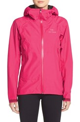 Women's Arc'teryx 'Beta Sl' Waterproof Jacket Pink Lotus