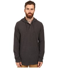 Rvca Pick Pullover Knit Ii Charcoal Heather Men's Clothing Gray