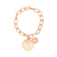 Thomas Sabo Rose Gold Charm Bracelet