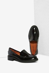 Nasty Gal Adger Leather Loafer