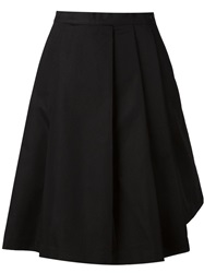 Y 3 Flared Midi Skirt Black