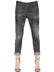 Dsquared Cool Girl Washed Cotton Denim Jeans