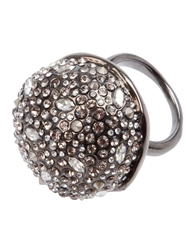 Alexis Bittar Crystal Studded Ring Grey