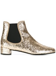 Pretty Ballerinas Sequin Embellished Boots Metallic