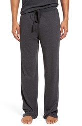 Daniel Buchler Men's Heathered Cotton Blend Lounge Pants