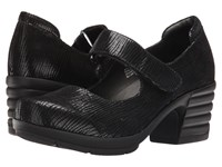 Sanita Icon Commuter Black Printed Suede Women's Shoes Multi