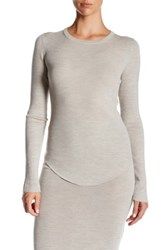 Brochu Walker Tamsin Wool Blend Pullover Gray