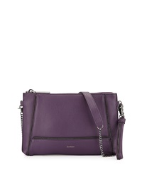 Botkier Soho Zipper Detail Crossbody Bag Purple
