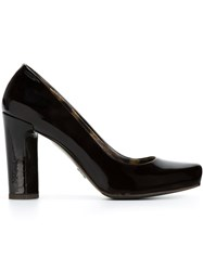 Dolce And Gabbana Vintage Varnished Pumps Black