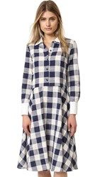 Ruken Prim Dress Blue Gingham
