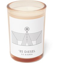 D.S. And Durga '85 Diesel Scented Candle 200G White