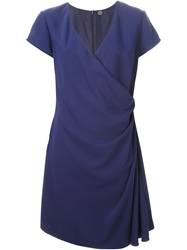 Azzaro Vintage Short Dress Blue