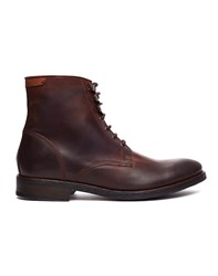 Base London Victoria Fur Lined Boots Brown
