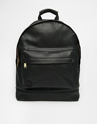 Mi Pac Perforated Backpack 001Black