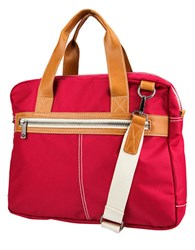 J. Fold Montreal Nylon Briefcase Red