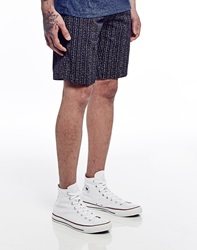 Farah Vintage Shorts In Printed Pattern Twill