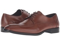 Kenneth Cole Han Dful Cognac Men's Lace Up Casual Shoes Tan