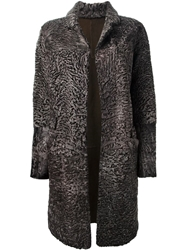Liska 'Hyrmes' Coat Brown