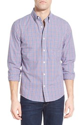 Men's Jack Spade 'Palmer Plaid' Trim Fit Sport Shirt