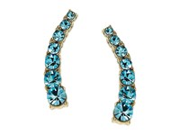 Kate Spade Dainty Sparklers Ear Pin Aquamarine Earring Blue