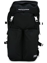 White Mountaineering Multiple Pockets Backpack Black