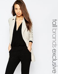 Alter Tall Oversized Relaxed Blazer Camel