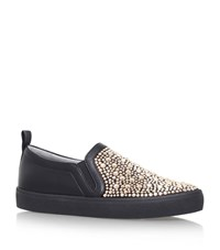 Gina Gioia Embellished Sneakers Female Black