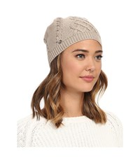 Ugg Isla Lurex Beanie W Fur Pom Moonlight Multi Beanies Black
