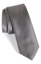 Men's The Tie Bar Dot Silk Tie