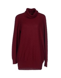 Marc By Marc Jacobs Turtlenecks Maroon