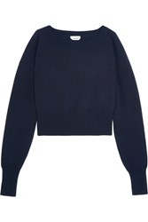 Chloe Cashmere Sweater Midnight Blue