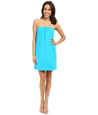 Susana Monaco Neysa Tube Dress Atomic Blue Women's Dress