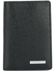 Hugo Boss Textured Fold Wallet Black