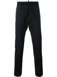 Dsquared2 Straight Leg Trousers Black