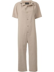 G.V.G.V. Relaxed Jumpsuit Nude And Neutrals