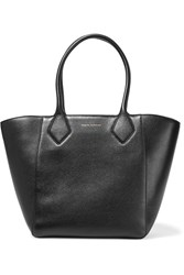 Eddie Harrop Cruiser Textured Leather Tote Black