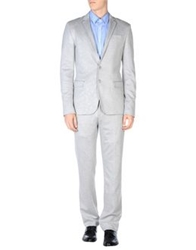 Bikkembergs Suits Light Grey
