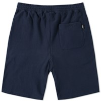 Stussy Stock Fleece Short Blue