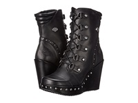 Harley Davidson Sandra Black Women's Dress Pull On Boots