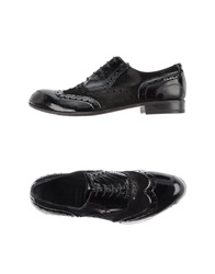 Moma Lace Up Shoes Black