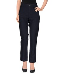 Bsbee Trousers Casual Trousers Women Dark Blue
