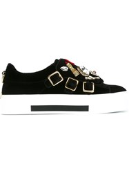 Alexander Mcqueen 'Obsession' Charms Sneakers Black