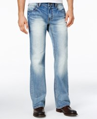 Inc International Concepts Men's Franko Boot Cut Light Blue Wash Jeans Only At Macy's Light Wash