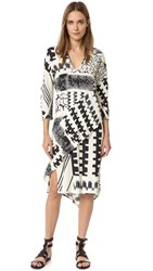 Zero Maria Cornejo Lulu Dress Chalk Blanket