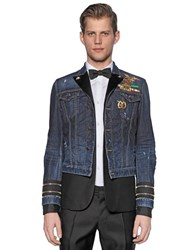 Dsquared Military Wool Jacket And Denim Jacket